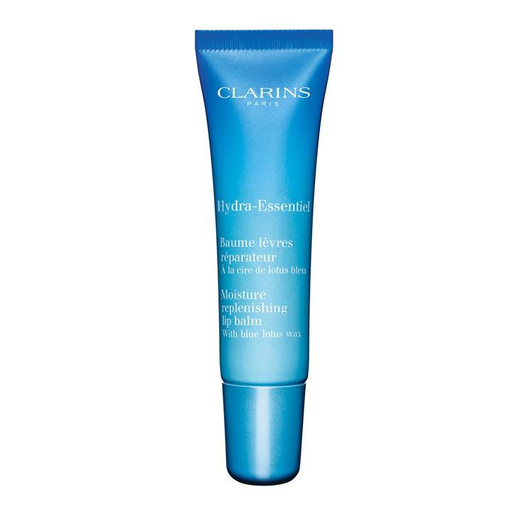 Bálsamo de labios reparador Hydra Essentiel de Clarins: productos piel invierno