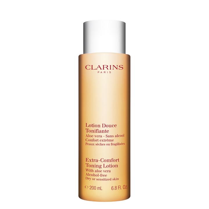Tónico suave piel seca o sensible de Clarins: productos piel sensible