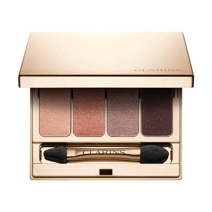 4 Colores Paleta de Sombras de Clarins: tendencias maquillaje otoño 2018