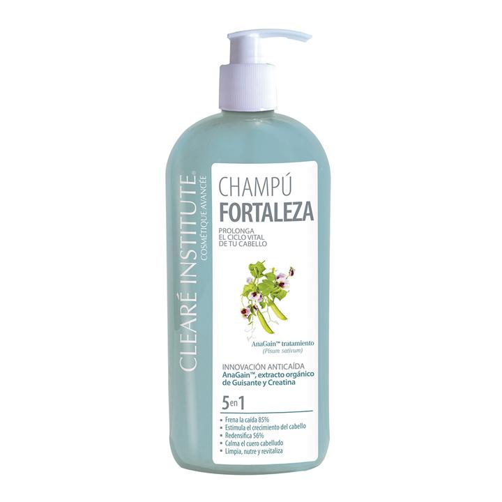 Champú fortaleza de Clearé institute: productos caída del cabello