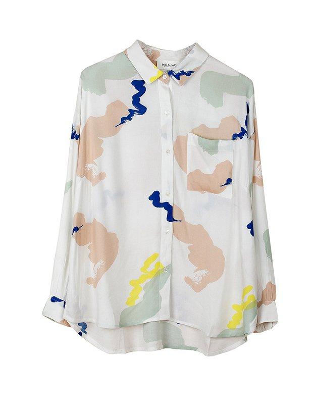 Camisa estampada de la Colección Primavera Verano 2019 de Indi&Cold