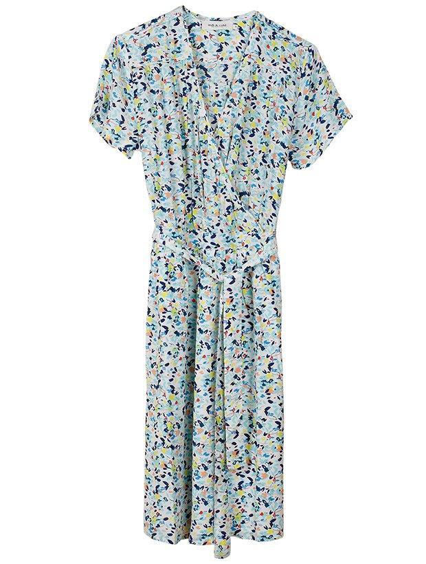 Vestido estampaado de la Colección Primavera Verano 2019 de Indi&Cold