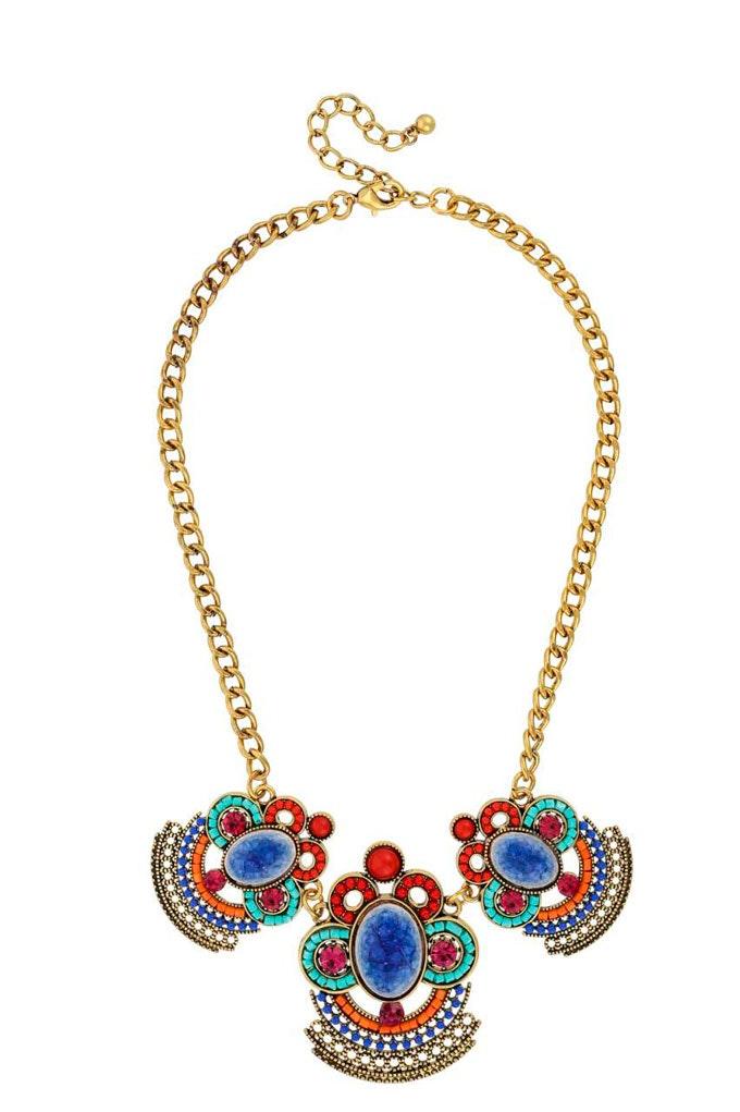 collar oriental multicolor