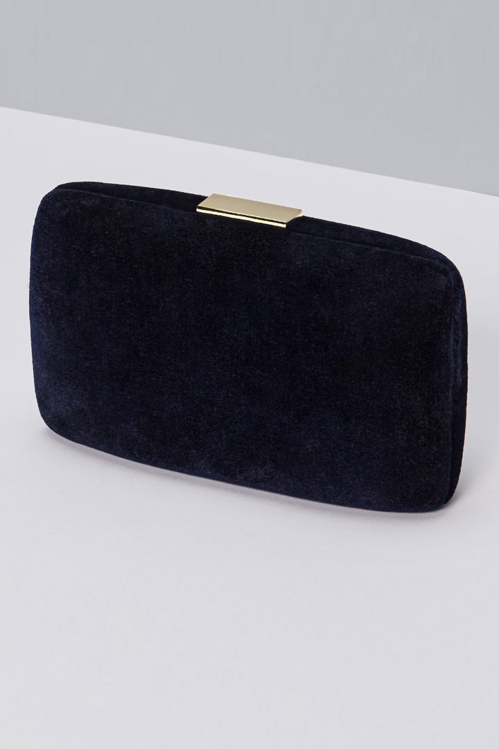 clutch azul de reformation