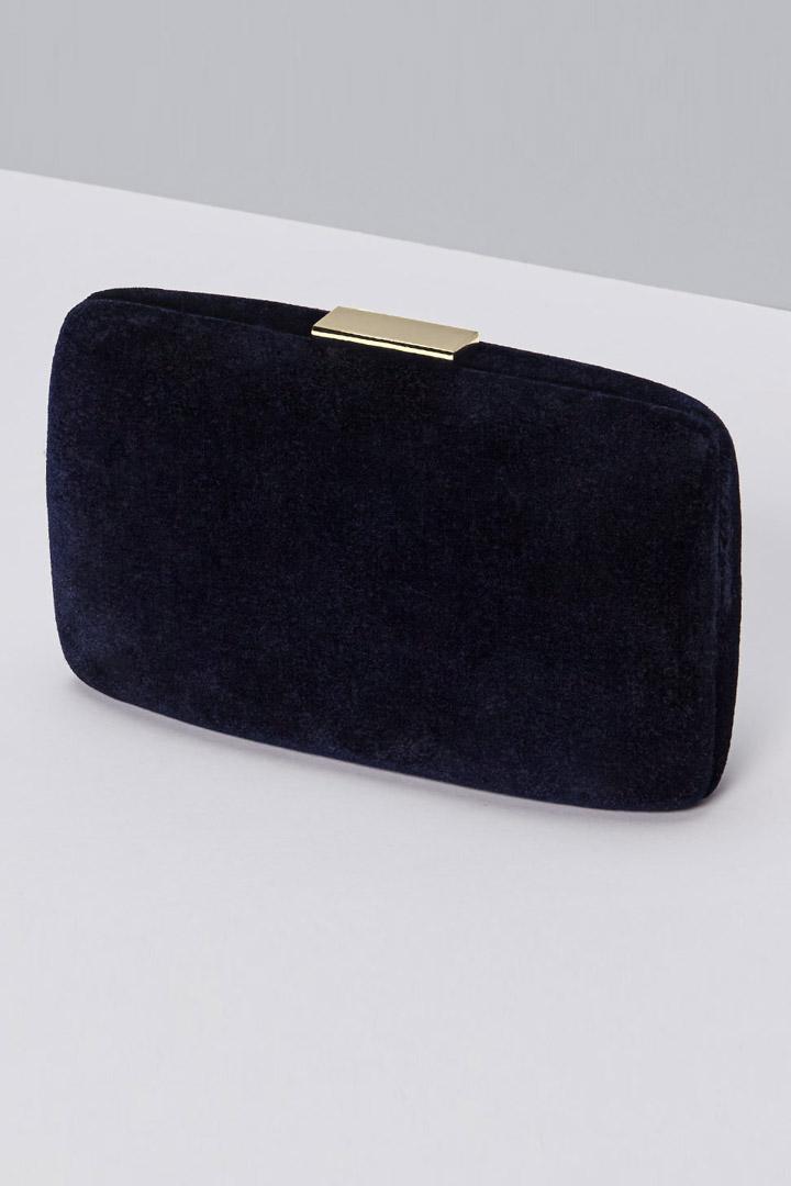clutch azul de reformation
