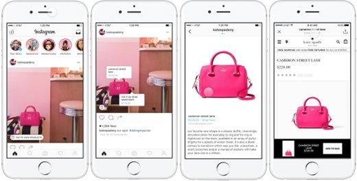 comprar a través de Instagram