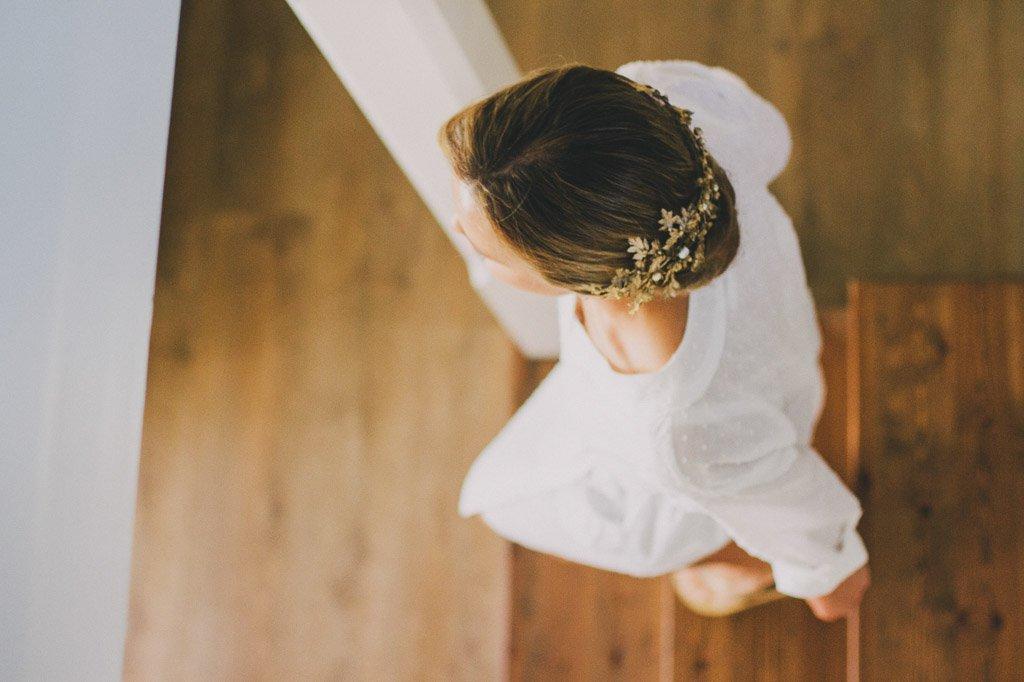 libelula tocado novia bride dragonfly suma cruz