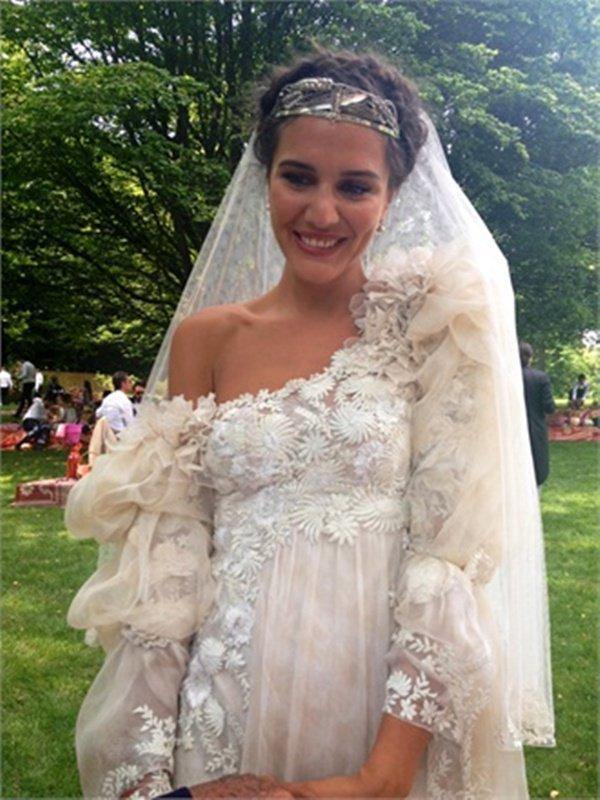 margherita missoni bride wedding novia