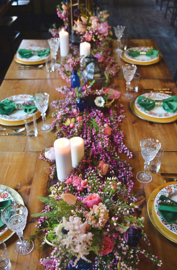 Caminos De Mesa De Flores Decoraci 243 N Flores Confesiones