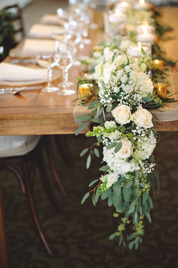 Caminos de mesa de flores decoraci n flores confesiones - Caminos para mesas ...