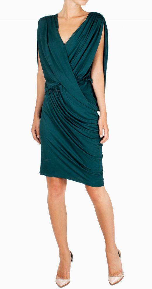 greta-constantine-24fab-vestido-corto-verde-raso-front1