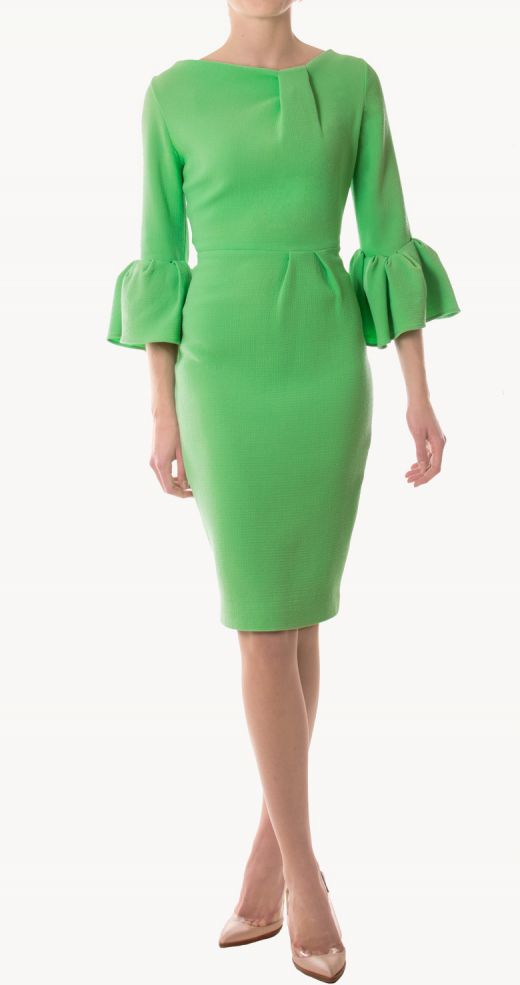 roksnada-ilincic-24fab-vestido-corto-margor-mangas-farol-verdes-front