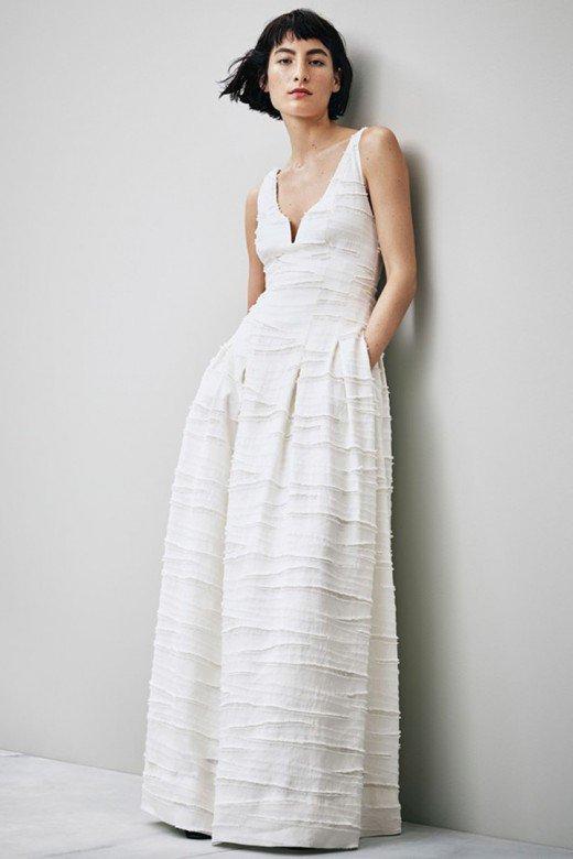 Vestido de novia de la colección Conscious by H&M