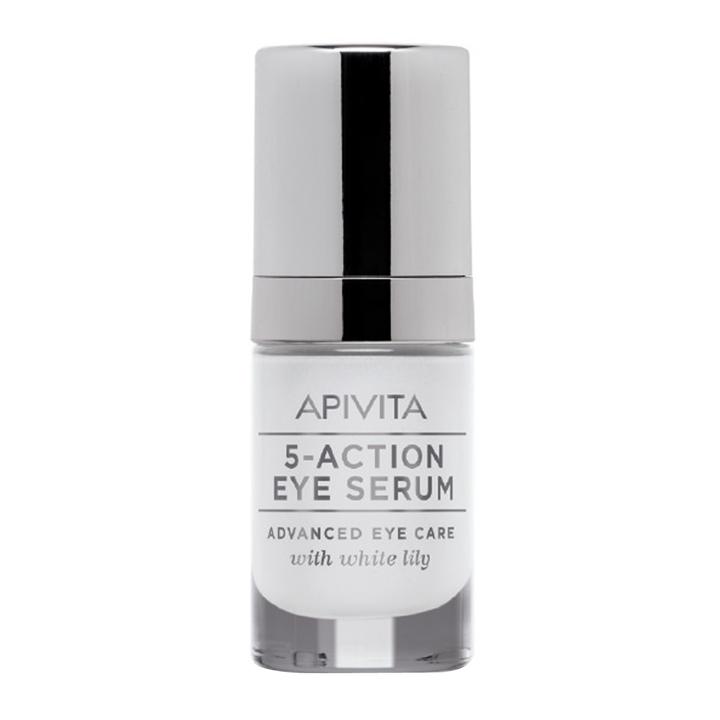Contorno de ojos 5 Action de Apivita: productos cosmética natural