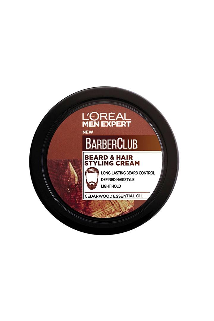 cosmetica masculina barber club crema moldeadora loreal