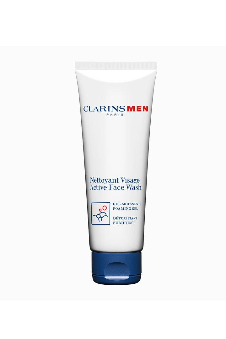 cosmetica masculina face wash clarins