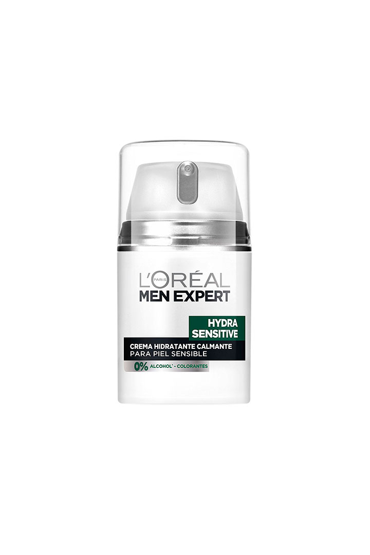 cosmetica masculina hidratante piel sensible loreal