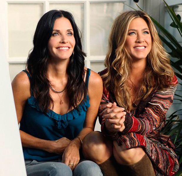 Courtney Cox y Jennifer Aniston Cougar Town