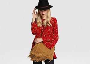 Look de invierno: estilo folk