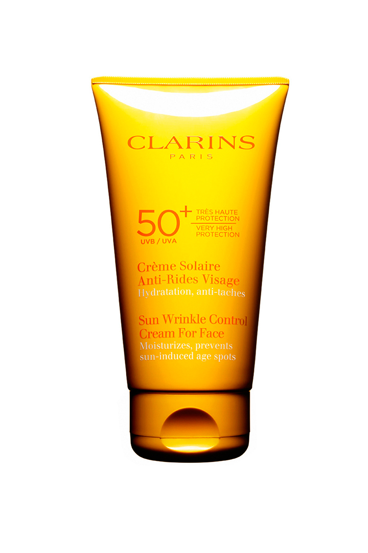Crema solar de rostro SPF 50 Clarins