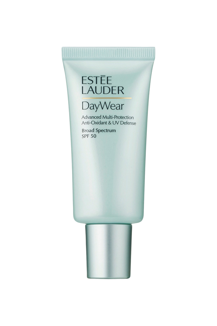 Mejores cremas solares: -Protector Anti-Oxidantes Avanzados y Defensa UV DayWear SPF 50 Estée Lauder