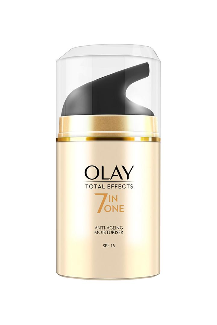 Mejores cremas solares: Crema Hidratante Anti-Edad de Día Total Effects 7en1 Olay