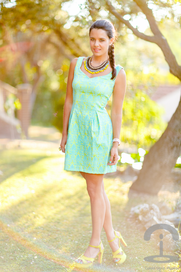 Lime Dress Crimenes de la Moda