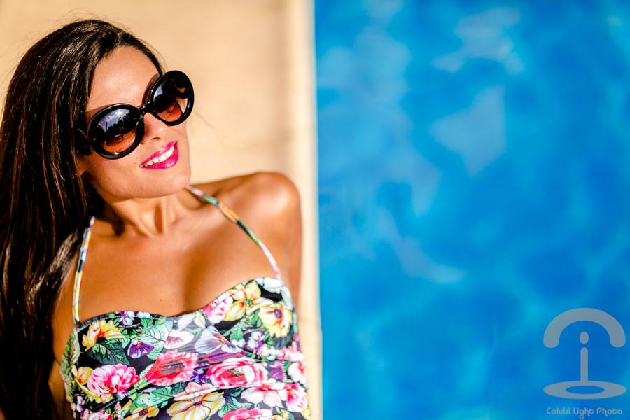 Floral Swimsuit Crimenes de la Moda