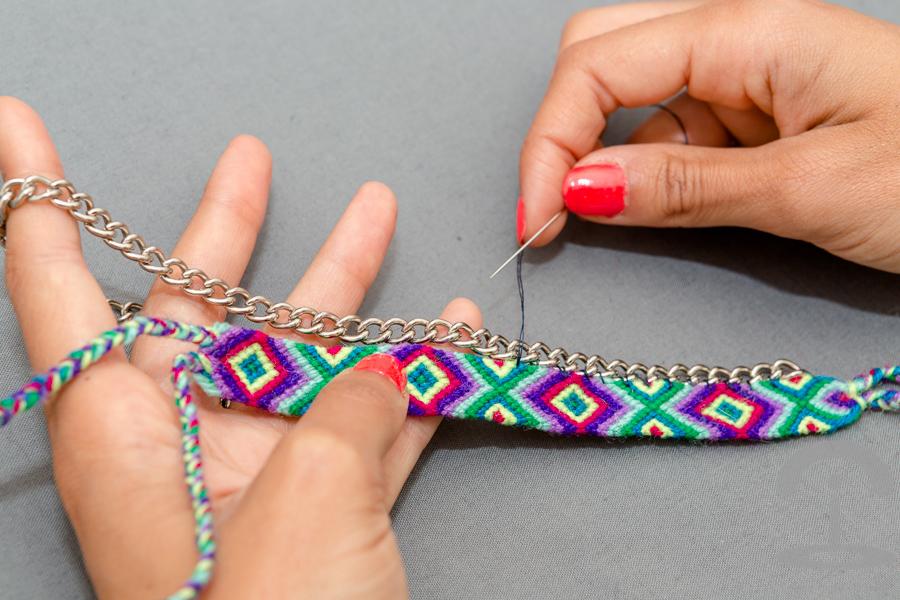DIY Pulseras de macrame Crimenes de la Moda