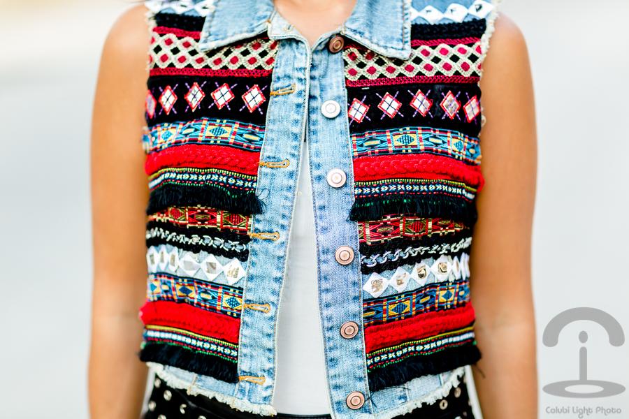 DIY Chaleco Etnico Crimenes de la Moda