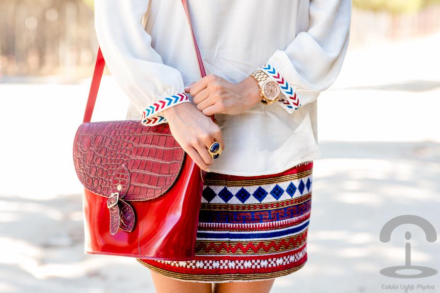 New ethnic skirt Crimenes de la Moda