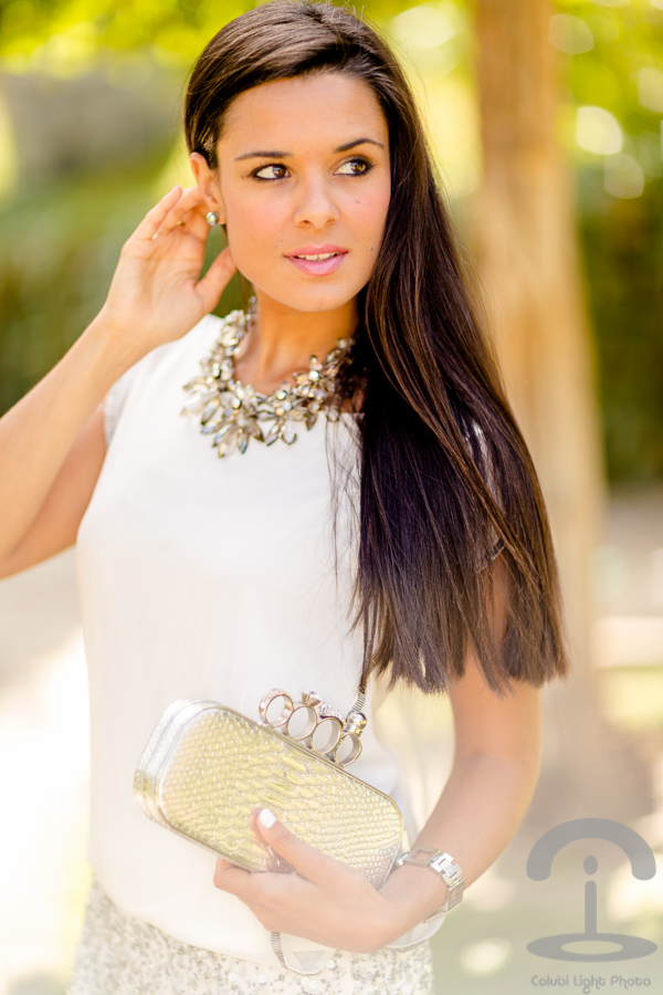 Silver dress Crimenes de la Moda