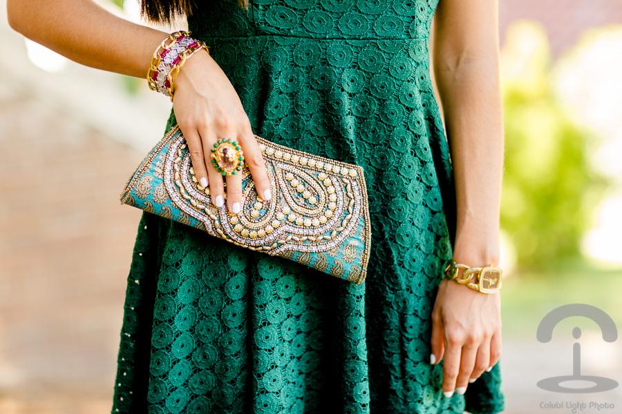 Green & Gold Crimenes de la Moda