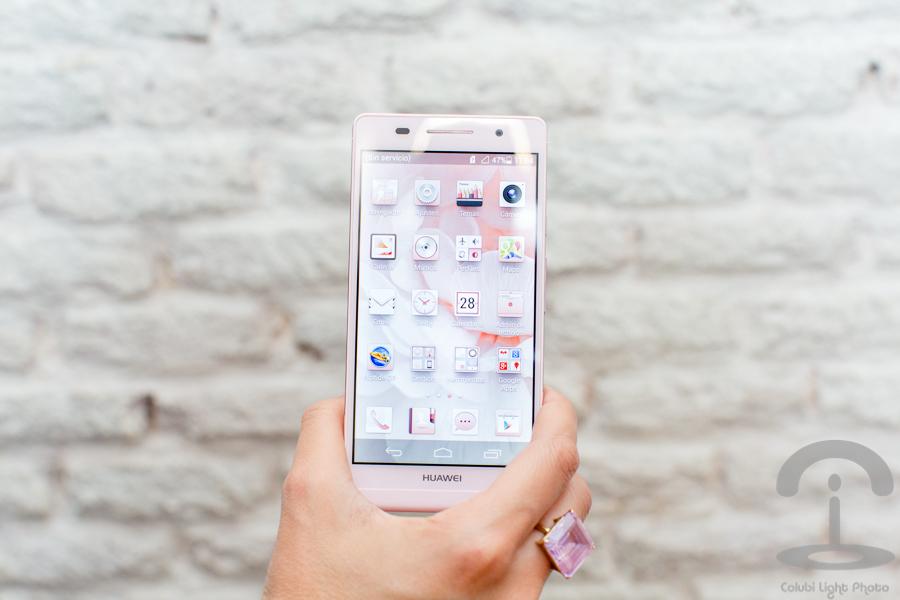 Huawei Ascend P6 Crimenes de la Moda