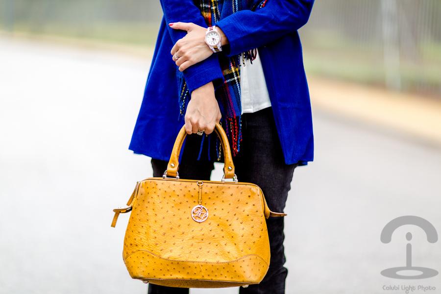 Bufanda tartan Crimenes de la Moda