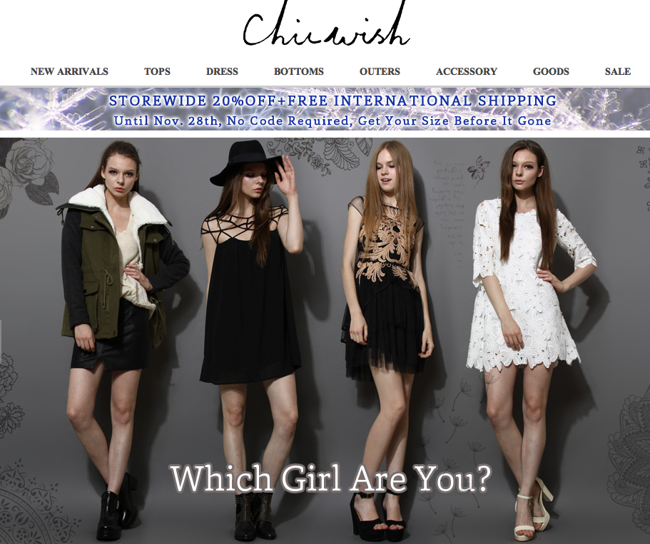 Chicwish Crimenes de la Moda