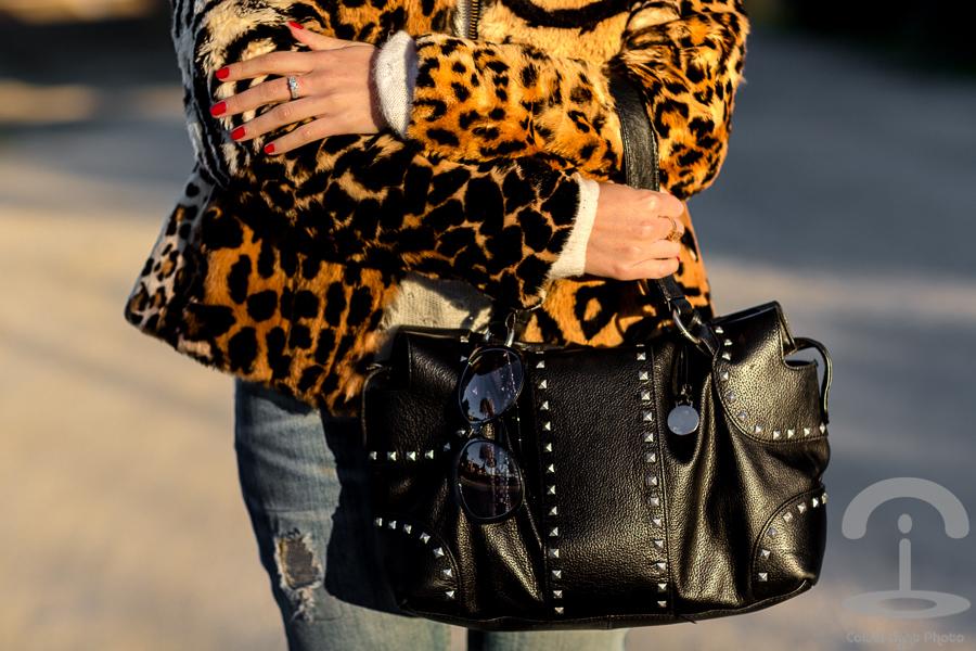 Abrigo de Leopardo Crimenes de la Moda