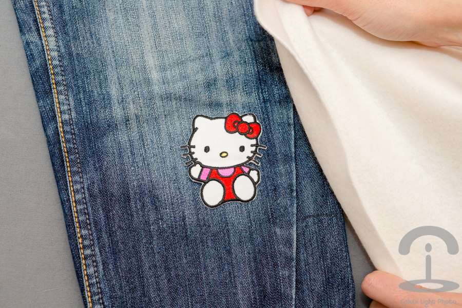 DIY Jeans con parches Crimenes de la Moda