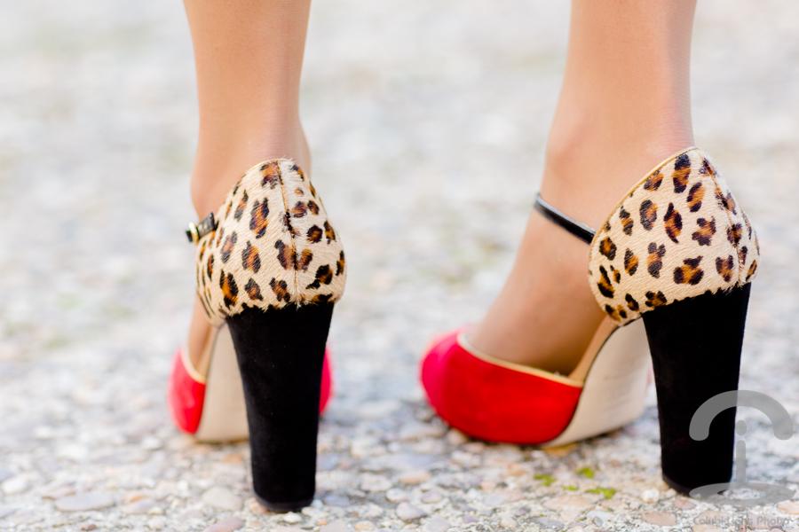 Zapatos diseñados por mí con Custom & Chic Crimenes de la Moda