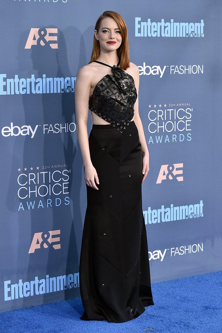 Critics Choice Awards Emma Stone