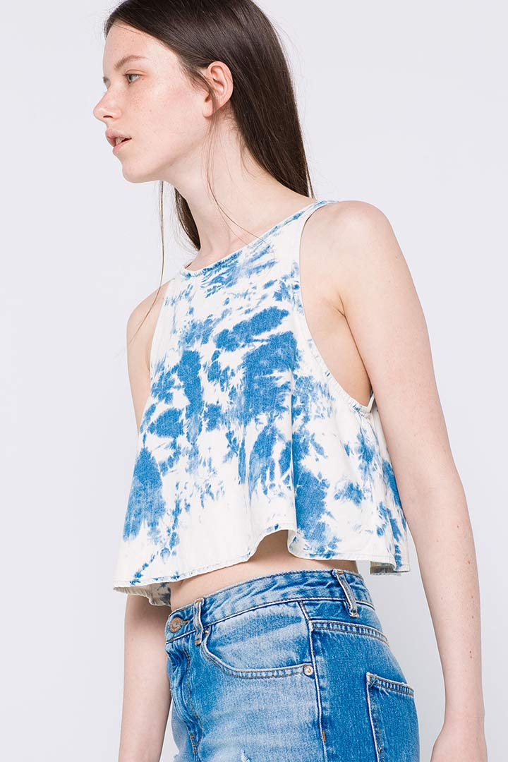 Top tie dye Pull and Bear