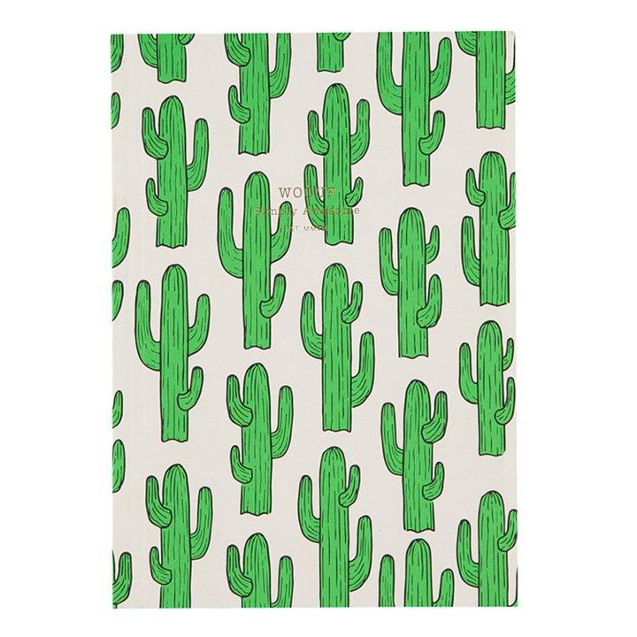 Cuaderno de Notas Cactus de Woouf: regalos amigo invisible