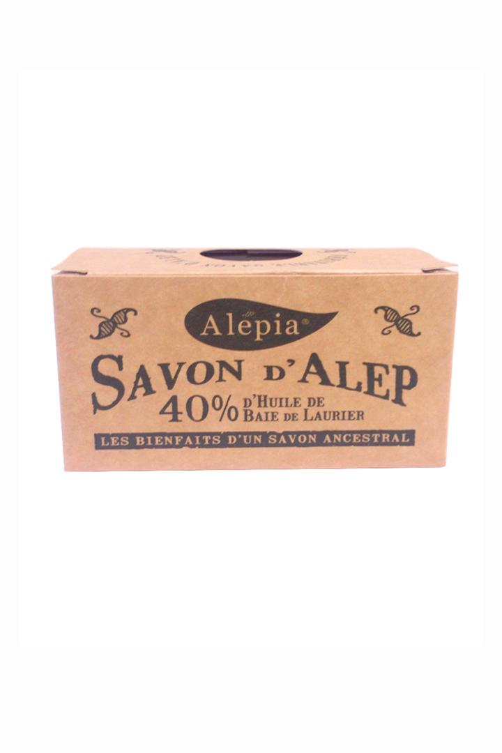 Pastilla de jabón de Alepo 40% Alepia