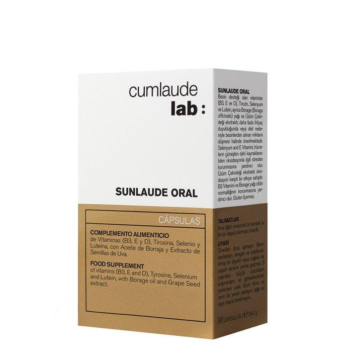 Cápsulas complemento alimenticio Sunlaude Oral de Cumlaude: productos piel sensible