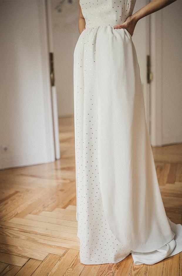 Vestido de la colección Danseuse de Cherubina