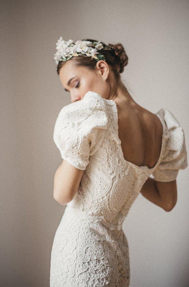 Vestido de novia de la colección Danseuse de Cherubina