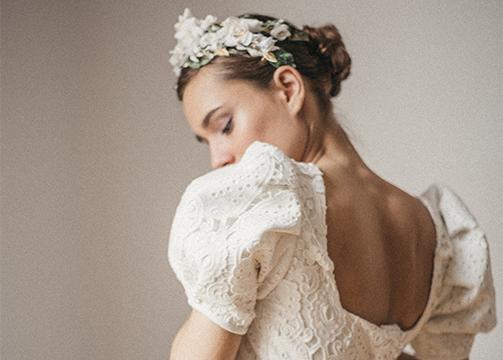 Colección de novias Danseuse de Cherubina