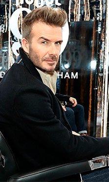 David Beckham presentó House 99 en Londres