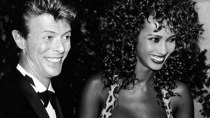 David Bowie e Iman imagen