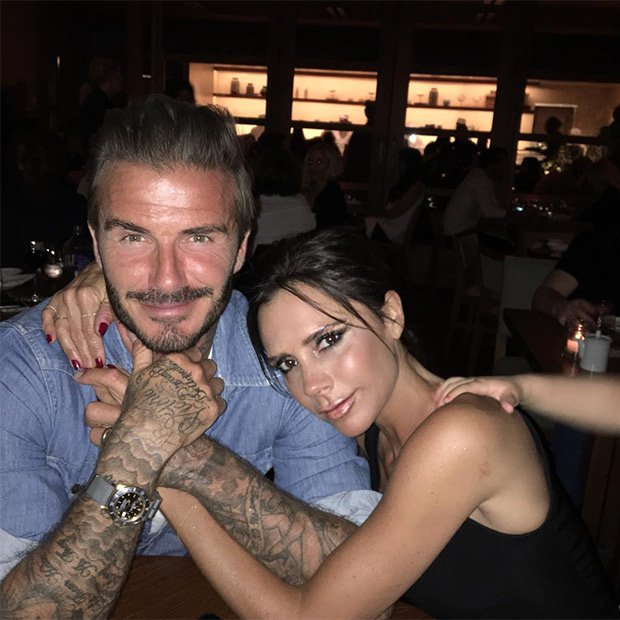 Parejas de celebrities estables Victoria y David Beckham